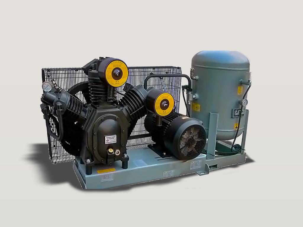 Compresor de aire para infladora de bidones