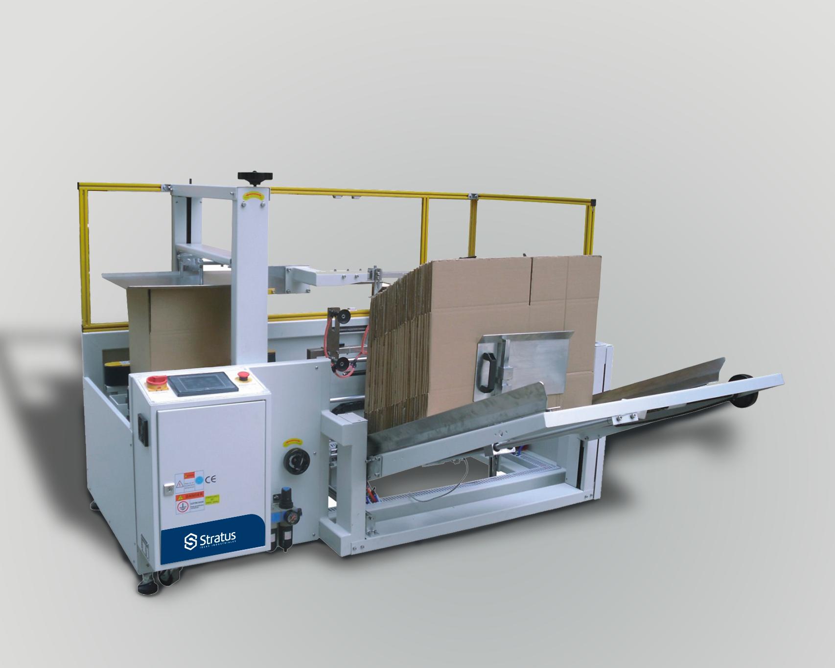 Máquina formadora de cajas